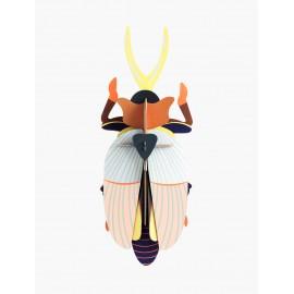 3D wanddecoratie - Rhinoceros Beetle