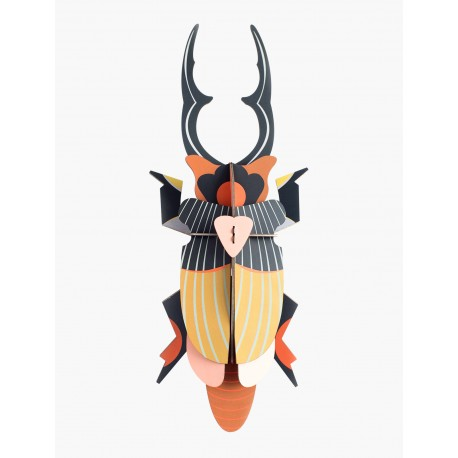 3D wanddecoratie - Giant Stag Beetle