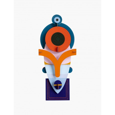3D wanddecoratie - Luma Mask